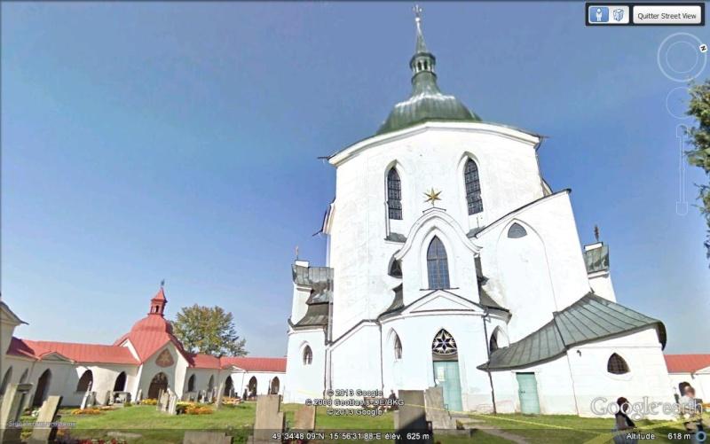 Eglise Zelená hora (une étoile tombée du ciel) - Bohème - République tchèque Mlkjhg10