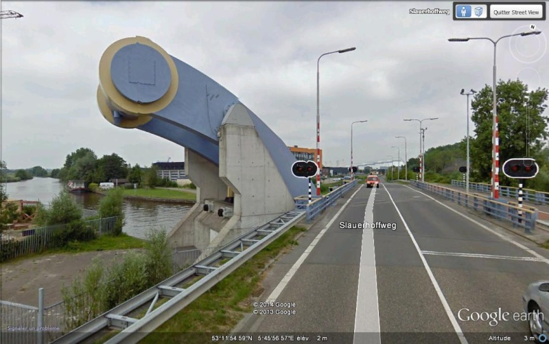 Le pont Slauerhoff - Leeuwarden- Pays-Bas Mm10