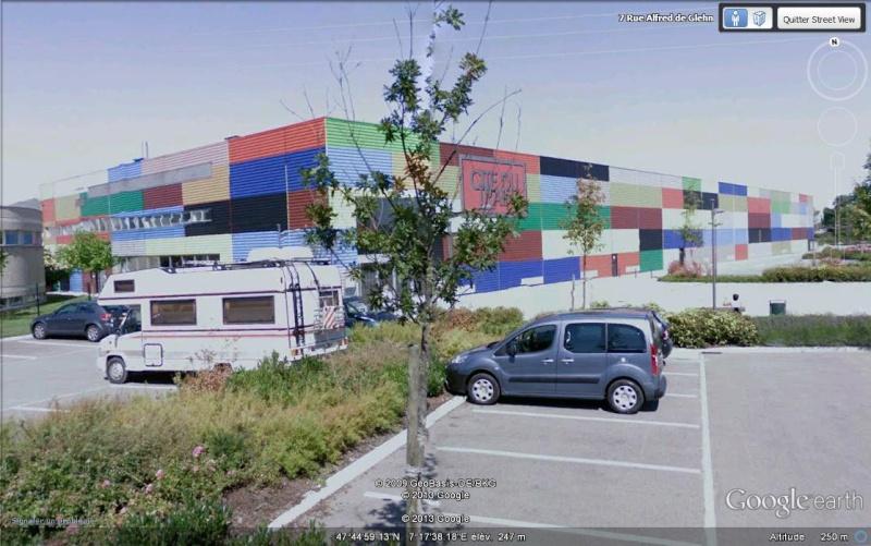 """Cité du train un """"bâtiment coloré"""", Mulhouse - France Mmmmmm10"""