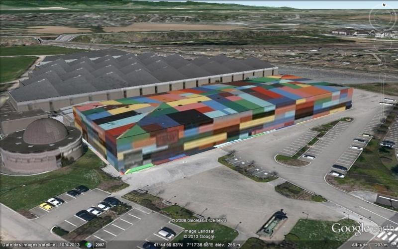 """Cité du train un """"bâtiment coloré"""", Mulhouse - France Nnnnnn10"""
