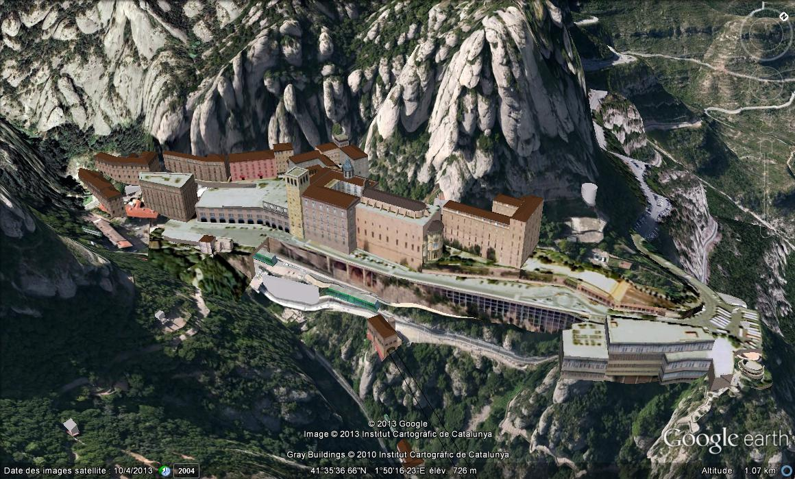 Monastère de MONTSERRAT, Catalogne, ESPAGNE Qpjev10