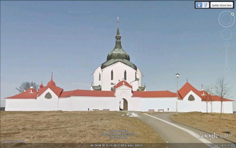 Eglise Zelená hora (une étoile tombée du ciel) - Bohème - République tchèque Sdf10