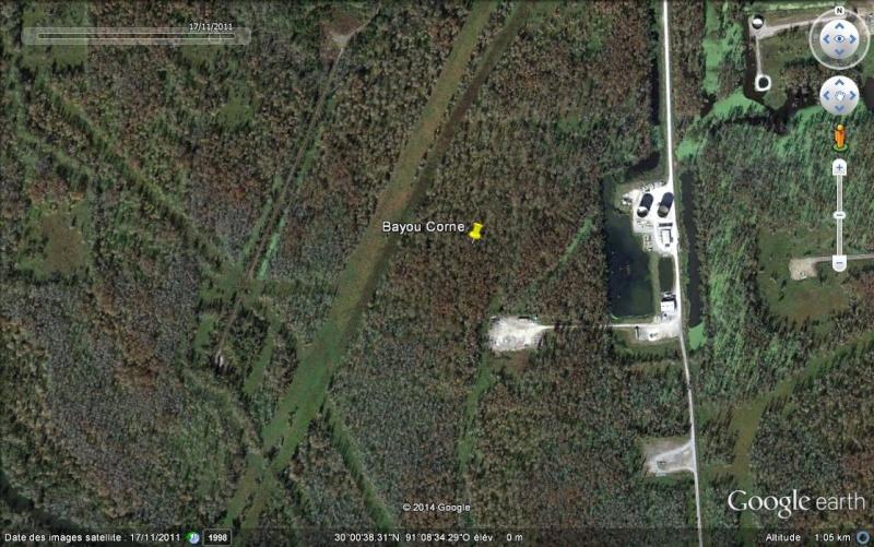 La doline de Bayou Corne - Louisiane - USA Ss14