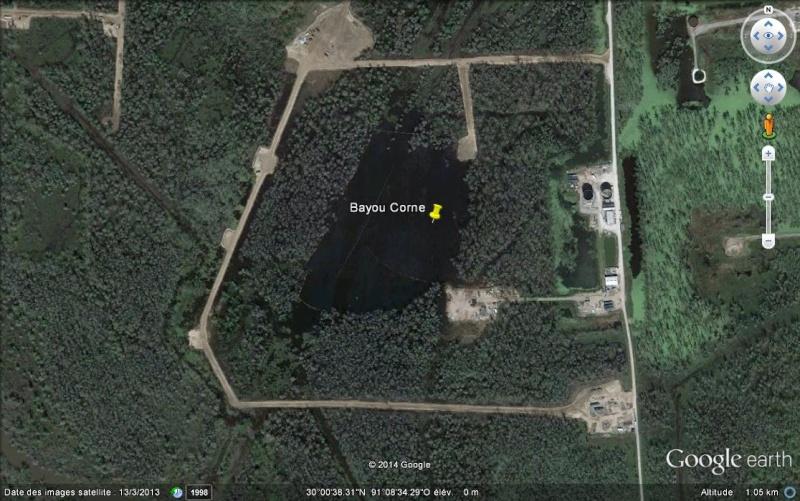 La doline de Bayou Corne - Louisiane - USA Ss15