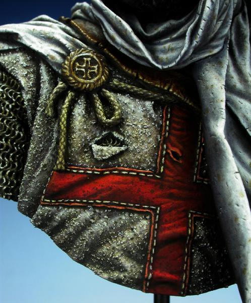 Templar knight in Jerusalem - Young Miniatures 1/10ème Dscn1611