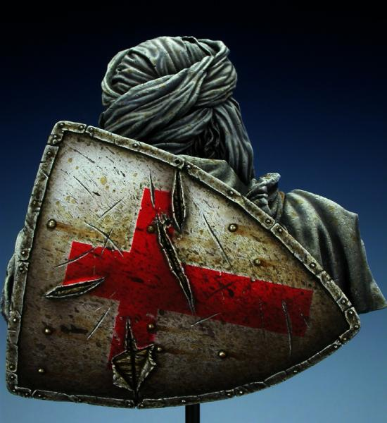 Templar knight in Jerusalem - Young Miniatures 1/10ème Dscn1612