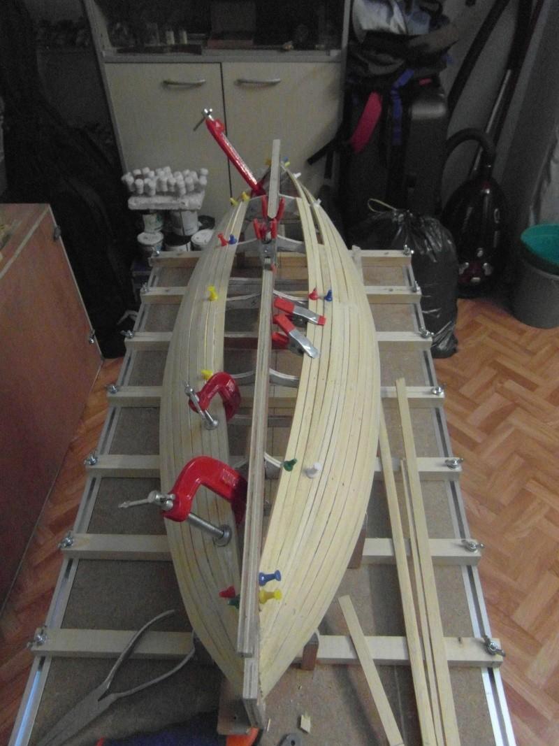 Barque Marseillaise echelle 1/8,12 00411