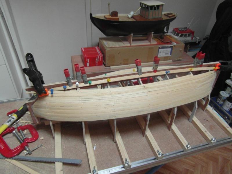 Barque Marseillaise echelle 1/8,12 00511