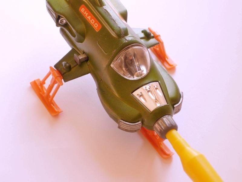 Ufo Interceptor 351 Dinky Toys in ottime condizioni con missile funzionante Dscn1714