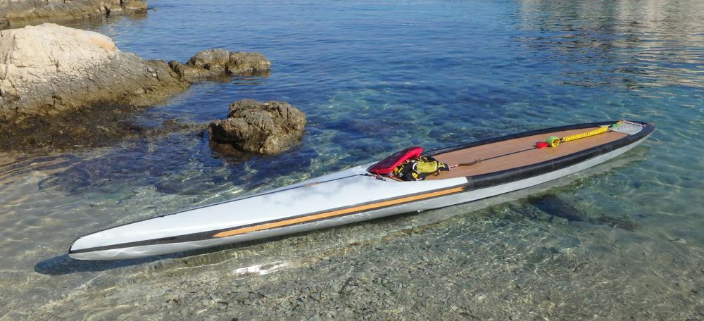 """SUP custom de cruising/grande balade 16'x27"""" 2017 - Marseille - BAISSE 950€ Pa270410"""