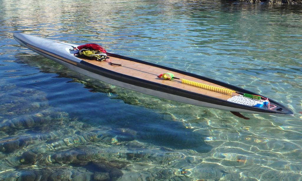 """SUP custom de cruising/grande balade 16'x27"""" 2017 - BAISSE 700€ Wow10"""