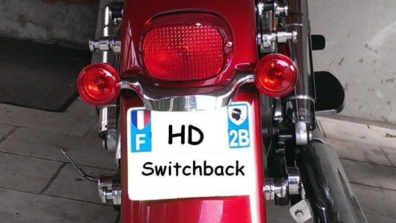 Mon arrivé chez H.D... en Switchback et son évolution... Cligno12