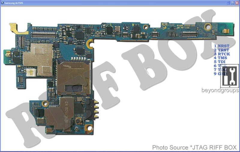 Samsung M250s Galaxy S II Pinout M250s_10