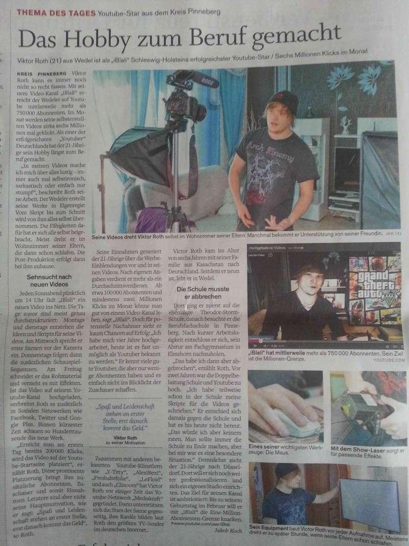 IBlali in der Zeitung *-* 52voz410