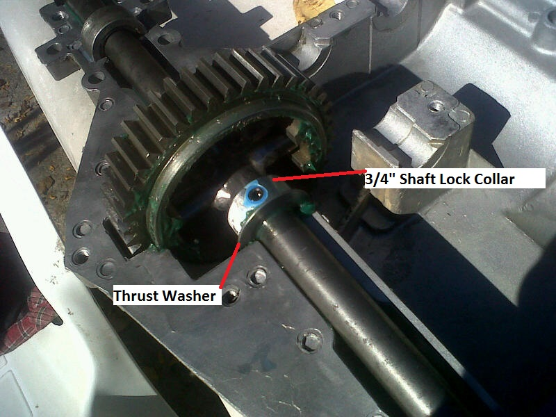 Locking A Peerless Transaxle... The Doc Locker! Video Added 2/23/14 Docloc15