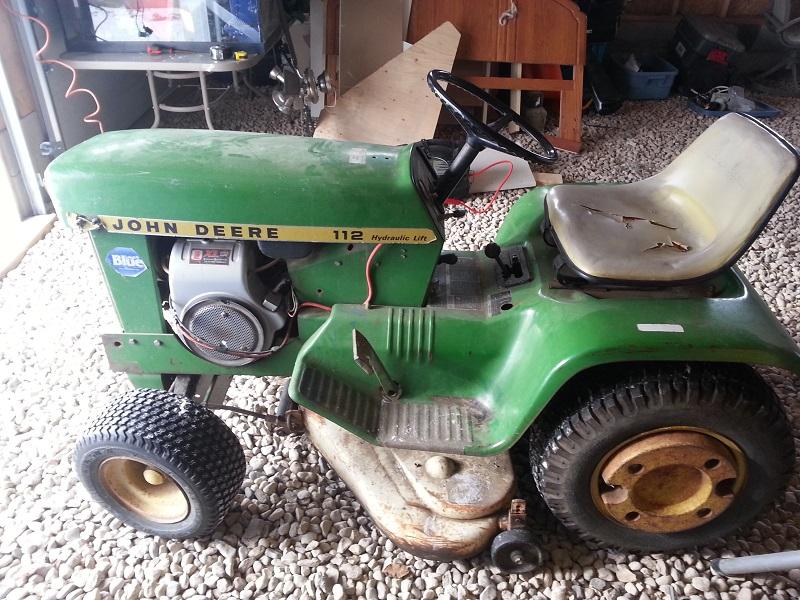 1970 John Deere 112... The beginnings of MULE II Johnny10