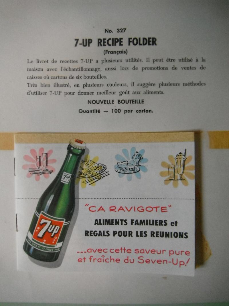 livre de recette 7up des années 50 02410