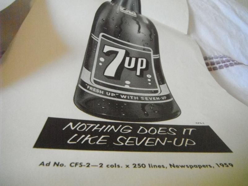 cataloge du parfait représentant 7up 1950-1960 04610