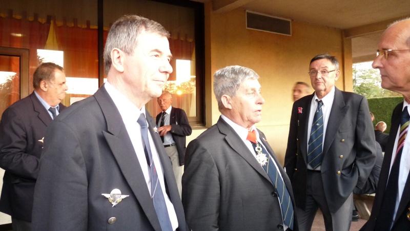 Pamiers. Gérard Longuet au 1er RCP - cérémonie de la Saint-Michel P1020610