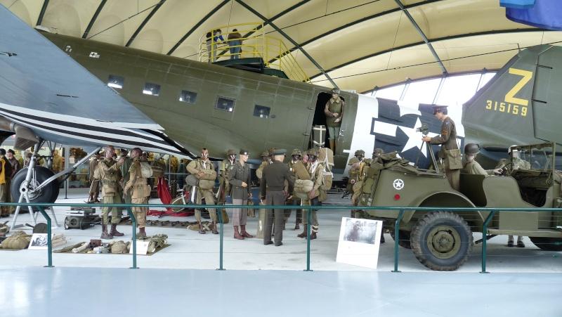 70e anniversaire du débarquement aéroportée en Normandie dans la nuit du 5 au 6 juin 1944 P1030010