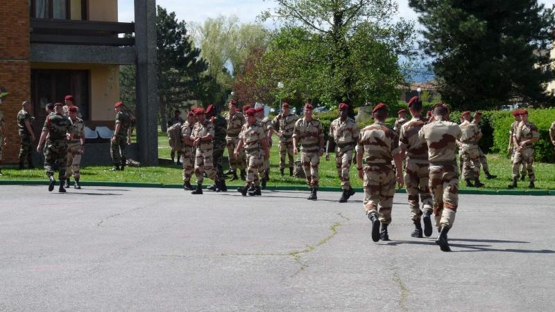 1er RCP Pamiers. Le second contingent est rentré hier du Mali P1040313