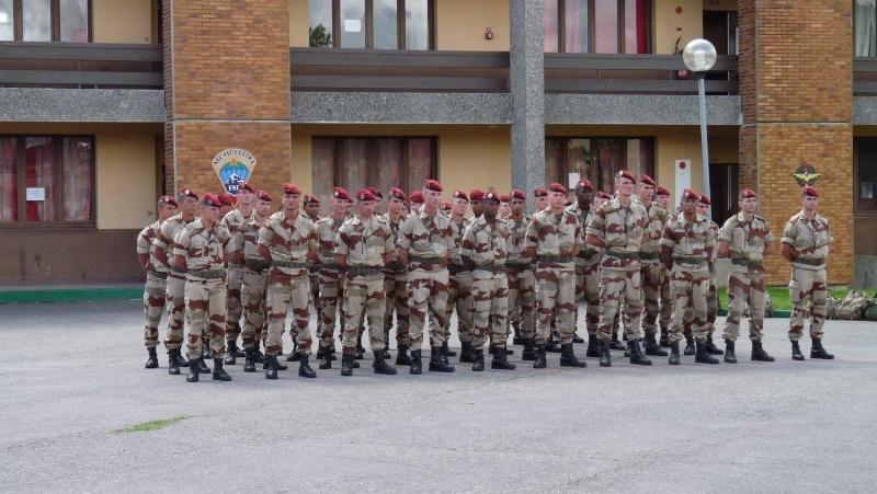 1er RCP Pamiers. Le second contingent est rentré hier du Mali P1040417