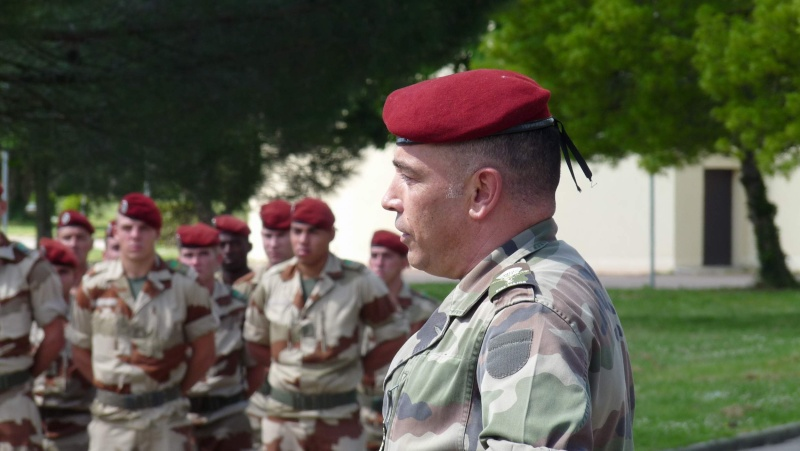 1er RCP Pamiers. Le second contingent est rentré hier du Mali P1040418