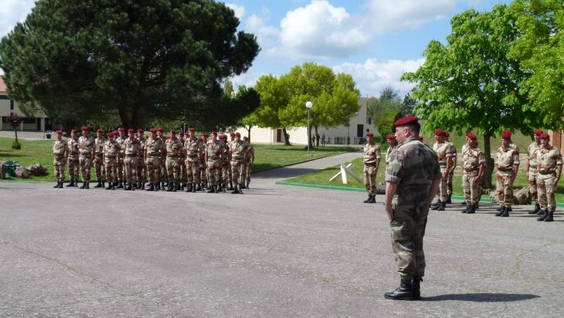 1er RCP Pamiers. Le second contingent est rentré hier du Mali P1040421