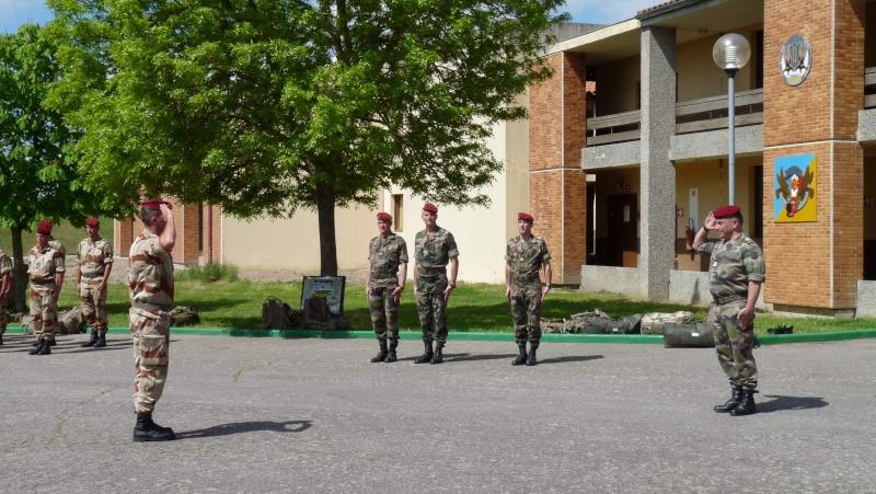 1er RCP Pamiers. Le second contingent est rentré hier du Mali P1040422