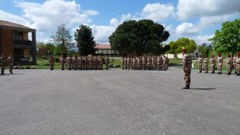 1er RCP Pamiers. Le second contingent est rentré hier du Mali P1040423