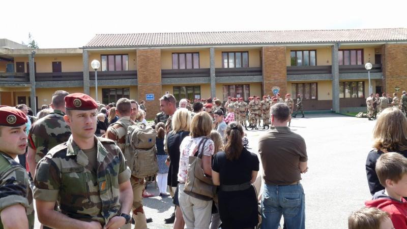 1er RCP Pamiers. Le second contingent est rentré hier du Mali P1040425