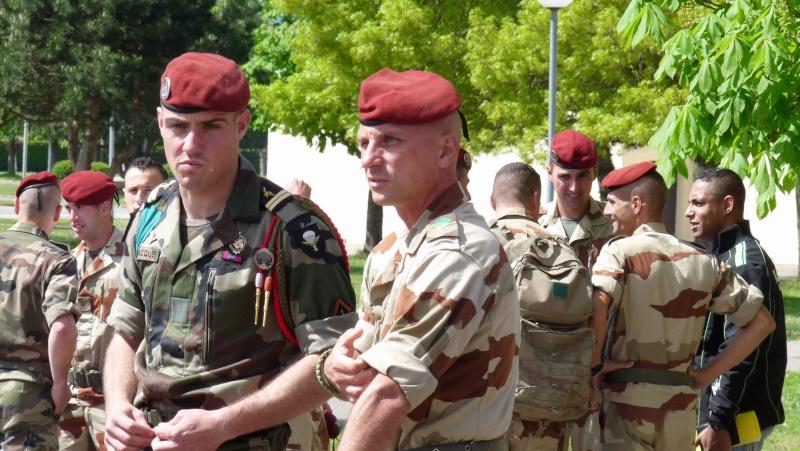 1er RCP Pamiers. Le second contingent est rentré hier du Mali P1040426