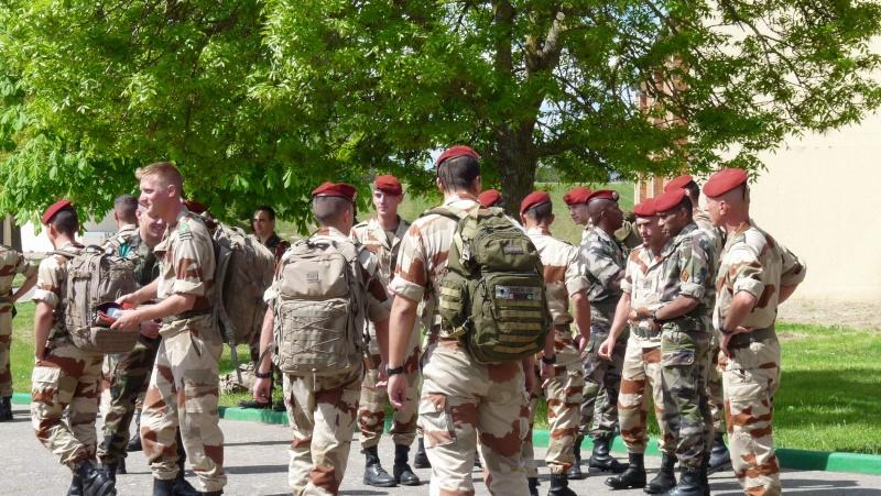 1er RCP Pamiers. Le second contingent est rentré hier du Mali P1040427