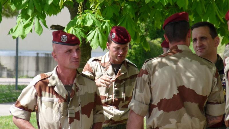 1er RCP Pamiers. Le second contingent est rentré hier du Mali P1040428