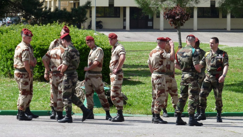 1er RCP Pamiers. Le second contingent est rentré hier du Mali P1040429