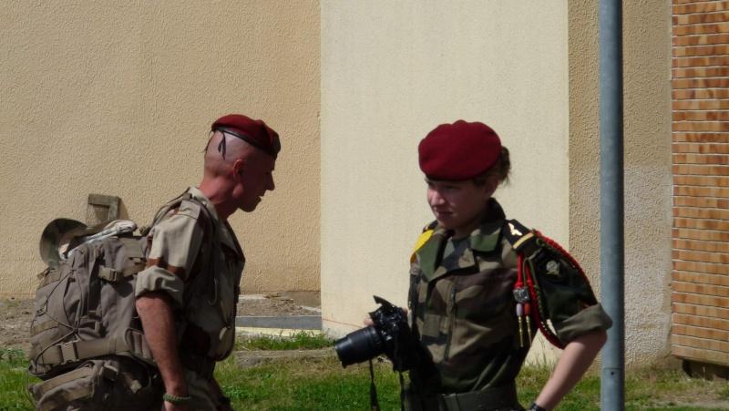 1er RCP Pamiers. Le second contingent est rentré hier du Mali P1040430