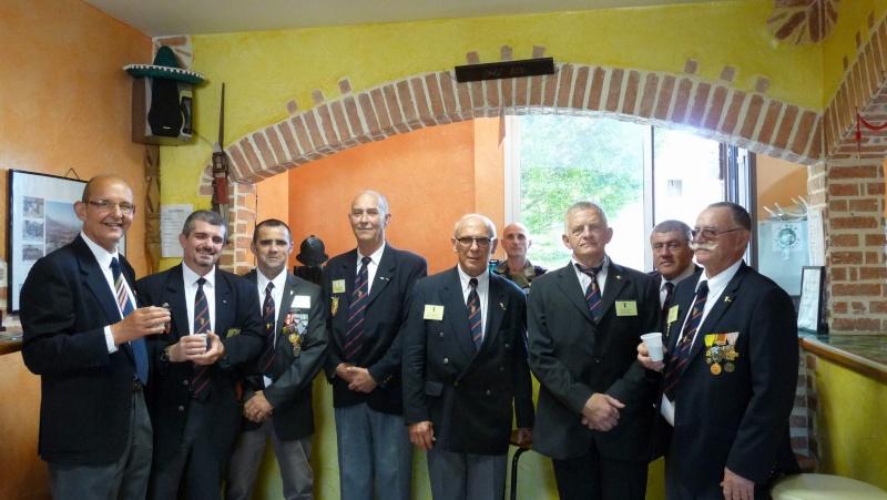 L'amicale des Anciens du 9ème R.C.P. à la commémoration du Drakkar P1050111