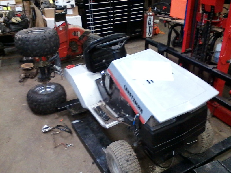 LMM's Rally Mower! 01021415