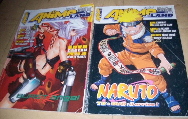 Mes Magazines animeland d'Alex - 2006 à 2014 412