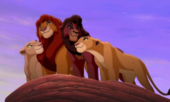 Le Roi Lion 2 : L'Honneur de la tribu  [1998] [F.Anim]    Roilio10