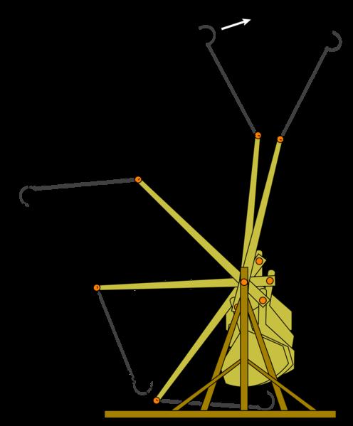 Tribok oder Trebuchet in Eigenkonstruktion aus Holz - Seite 2 496px-10
