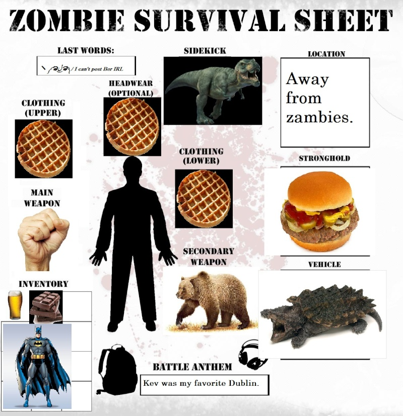 Your Zombie Apocalypse Survival Sheet ! Zombie10