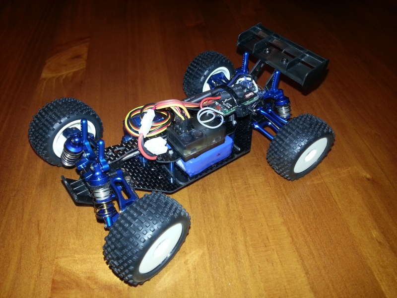 Projet Losi 1/24: Micro Truggy Xtrem ! 20140116