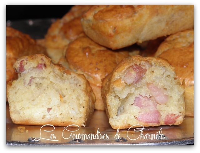 Mini Cake Lardons et Roquefort Cuisin12