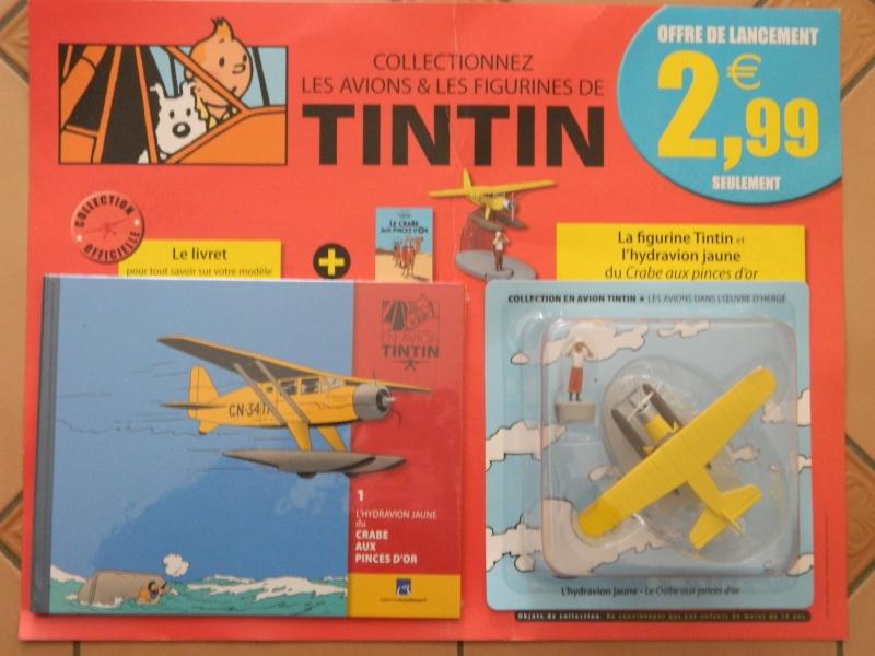 Collection d'avion Tintin - Hachette Collection Dscn1110