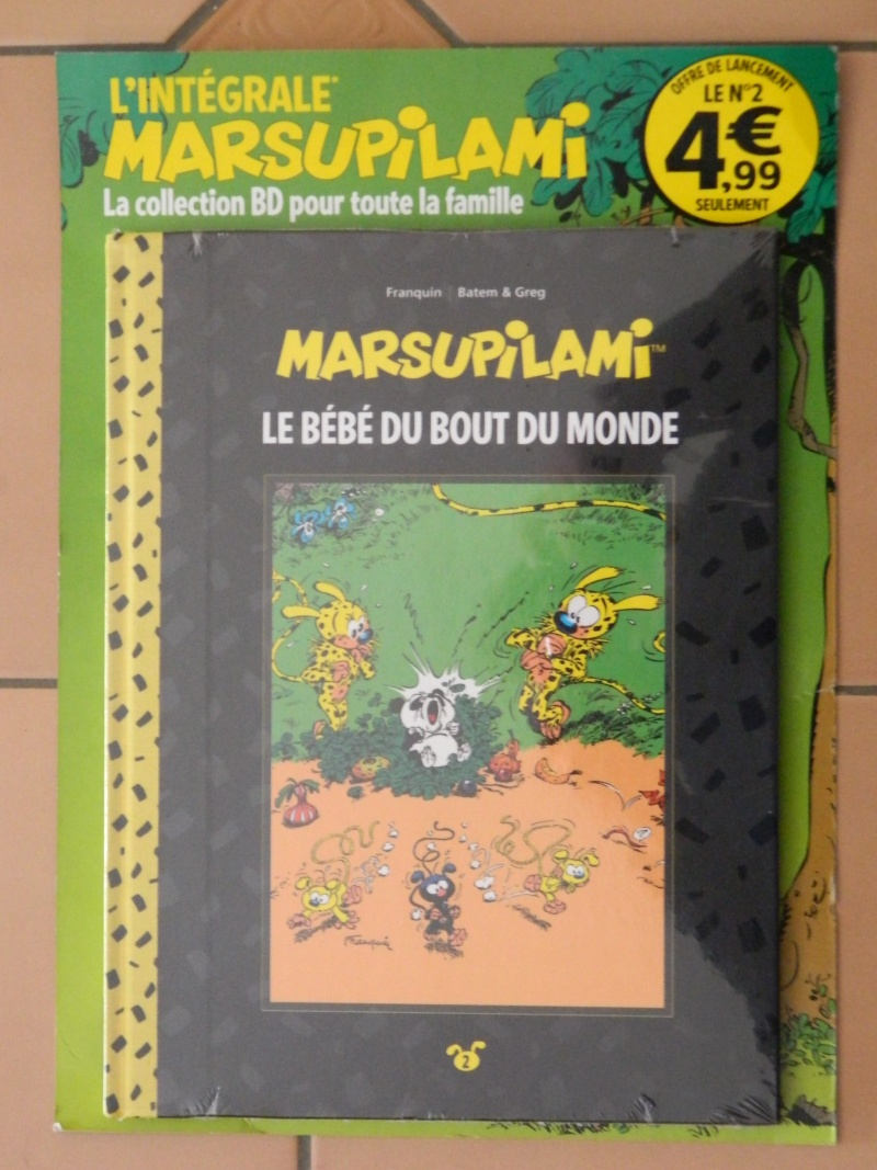 Collection Intégrale des BD de Marsupilami - Grand Format et Dos Toilé Dscn1114