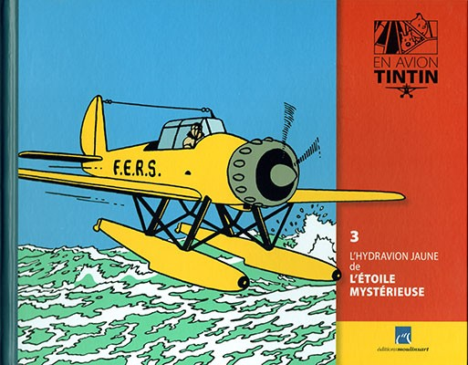 Collection d'avion Tintin - Hachette Collection Parabd15