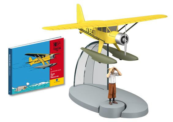 Collection d'avion Tintin - Hachette Collection Photo110