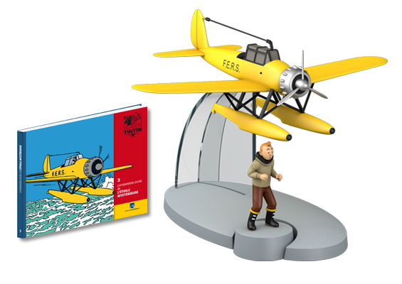 Collection d'avion Tintin - Hachette Collection Photo311