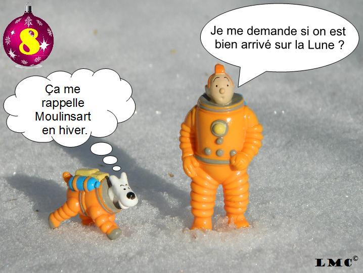 Calendrier de l'avent Spécial Le Monde Collectionne ! Tintin12